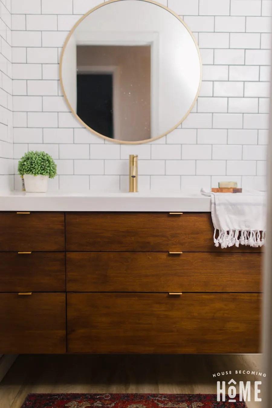How to Build a DIY Vanity Ikea Odensvik Sink