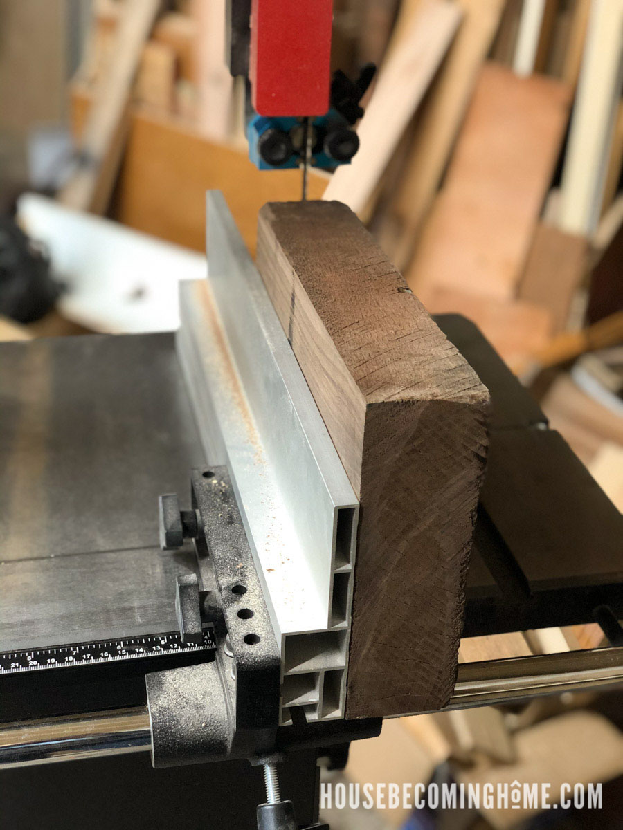 Using a Bandsaw to Cut Thick Lumber