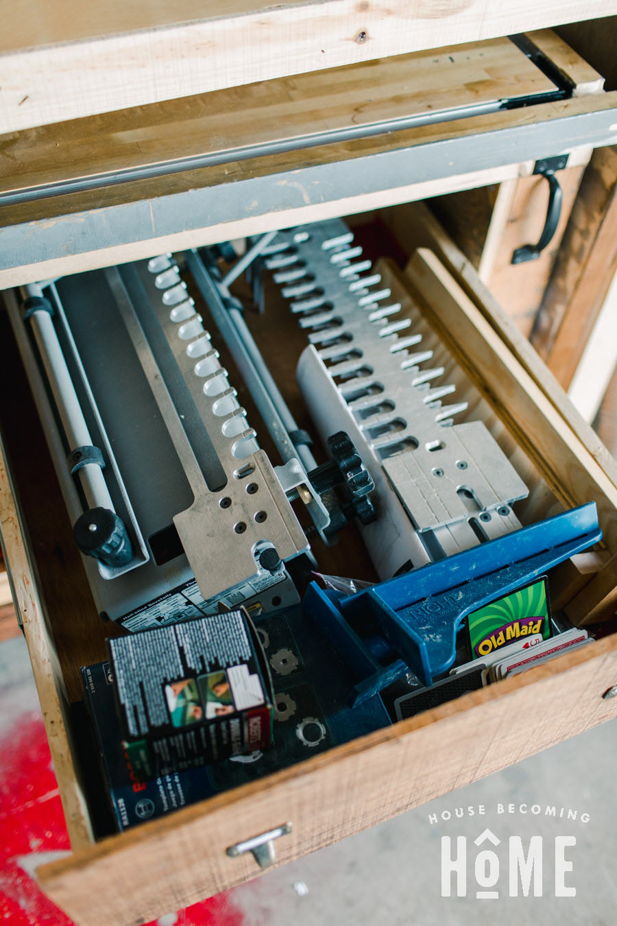 Dovetail Jig Drawer