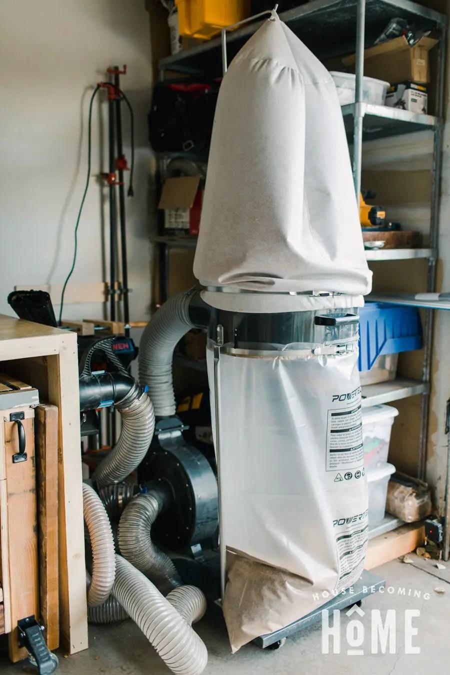 Garage Workshop Dust Collector