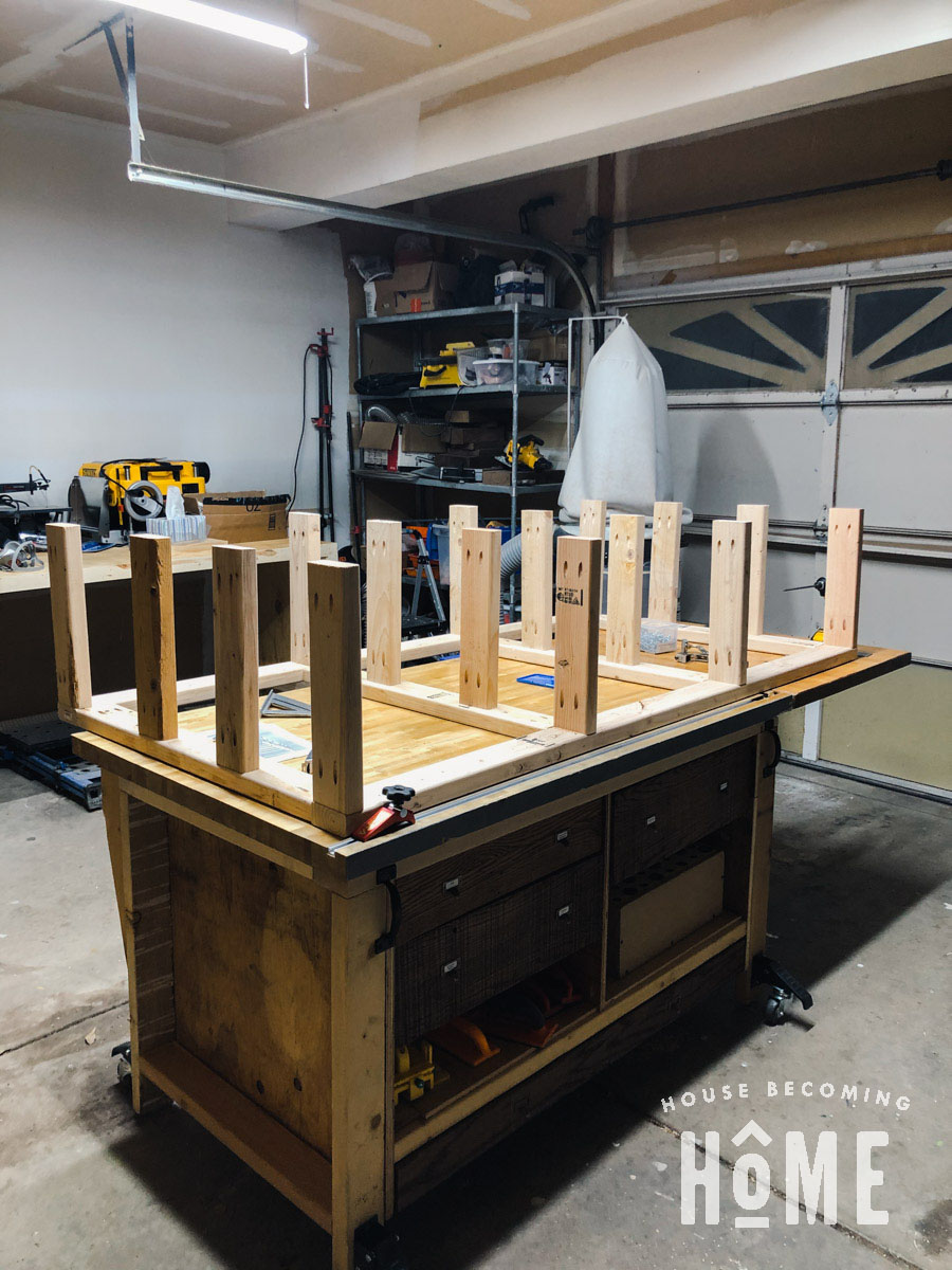 How to Build a Frame for Built in Bunk Beds