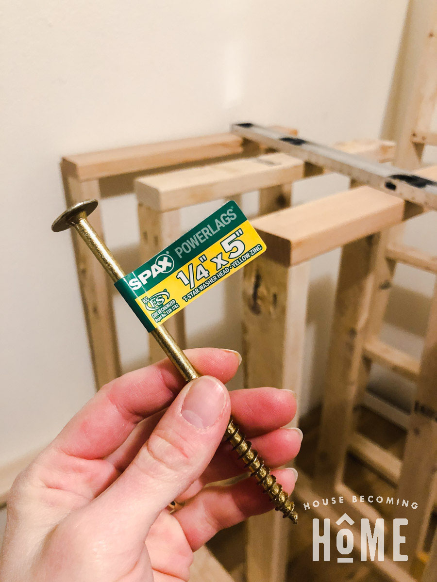 Spax Screws to Attach Bunk Beds Securely to Walls