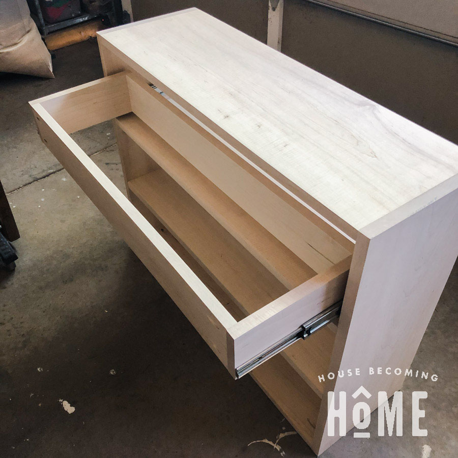 How I Install Drawers and Drawer Slides
