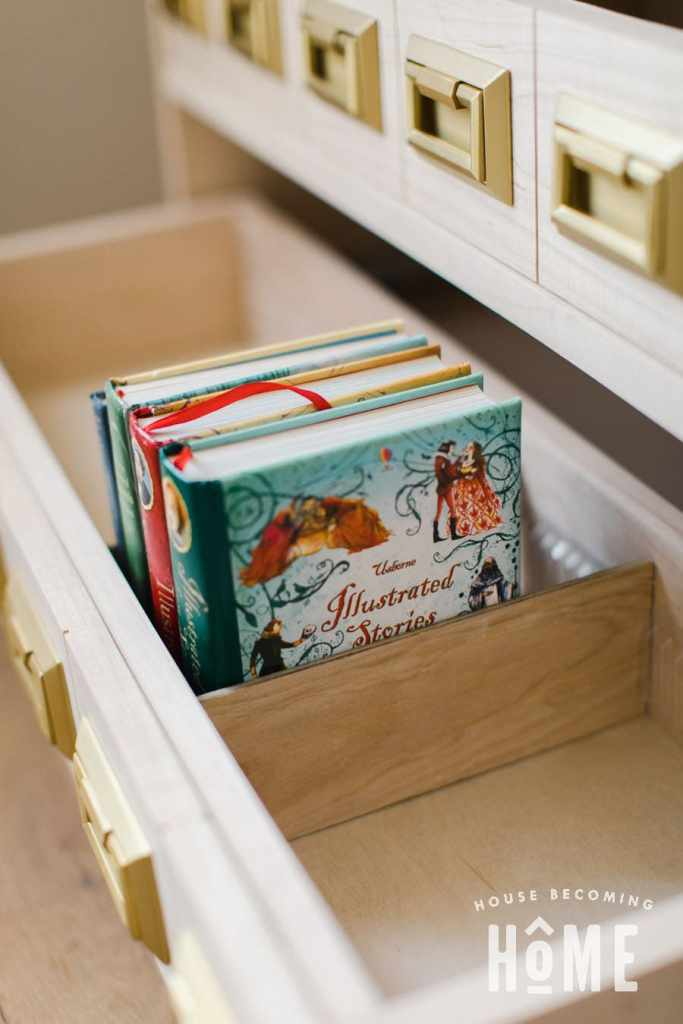 Pull Out Book Drawer