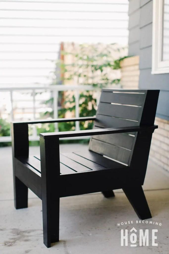 Build a Rejuvenation Modern Adirondack Chair
