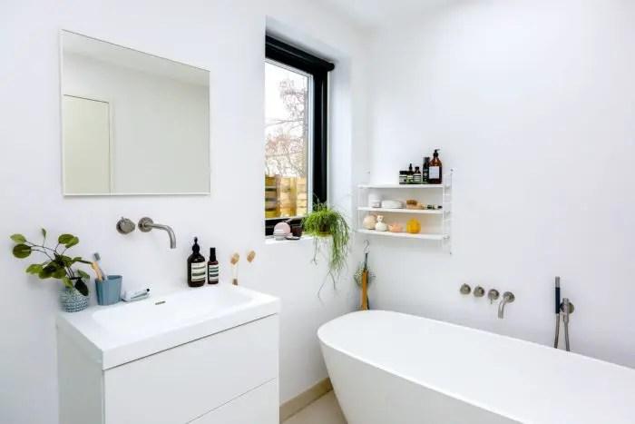 a clean bathroom