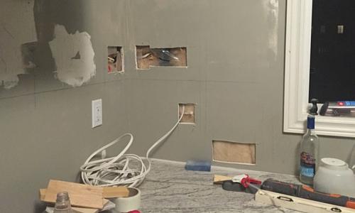 wall holes