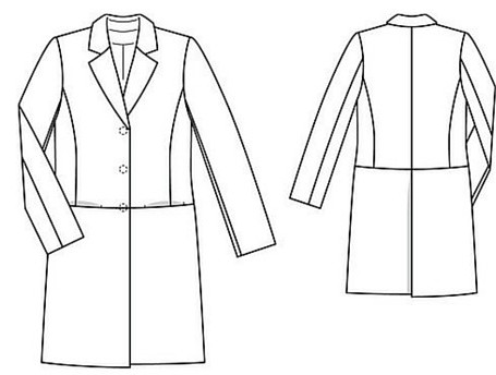 DIY Wardrobe - BurdayStyle Coat