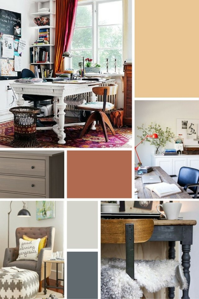 Office Makeover Design Board