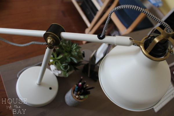Office Makeover Ranarp Lamp
