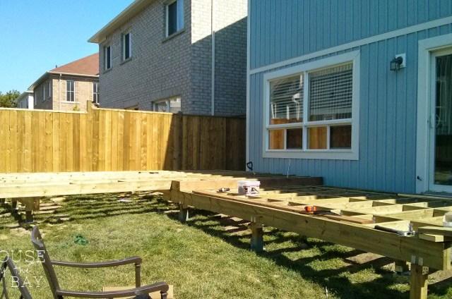 deck building frame