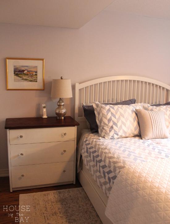 bedroom makeover bed