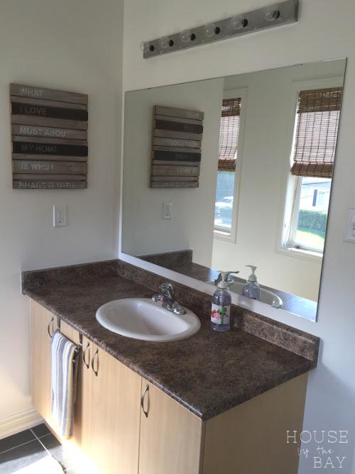 Main Bathroom Makeover Vanity