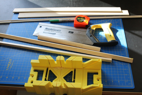 diy thread rack materials