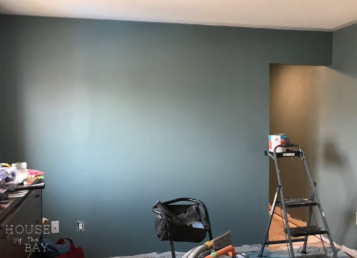 Painted walls but still no floor | Spring One Room Challenge | Week Four