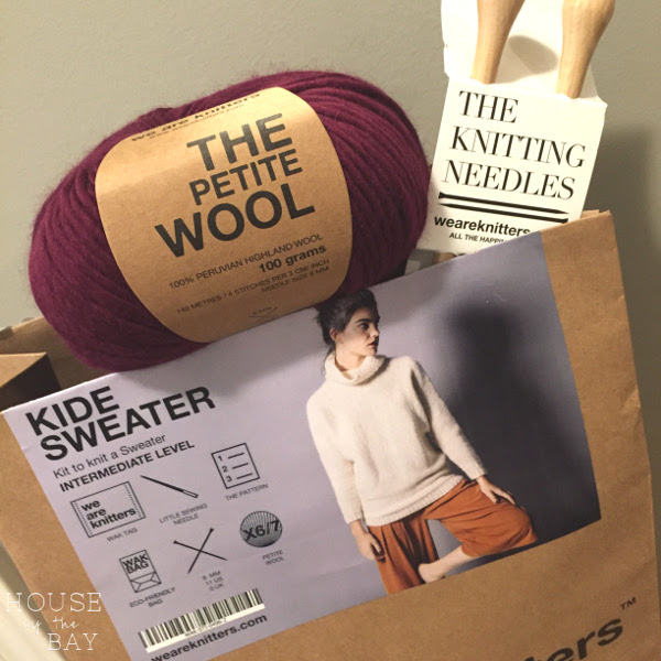 We Are Knitters Kid Sweater knitting kit | House by the Bay