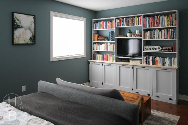 Bedroom Makeover Reveal   One Room Challenge   House by the Bay Design