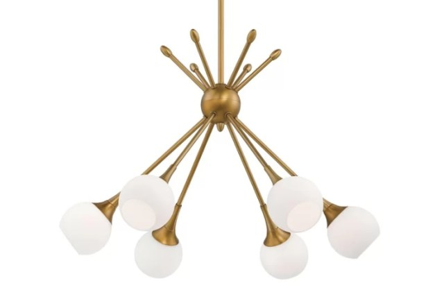Brass Light Fixture | 2018 Home Design and Decor Trends | House by the Bay Design