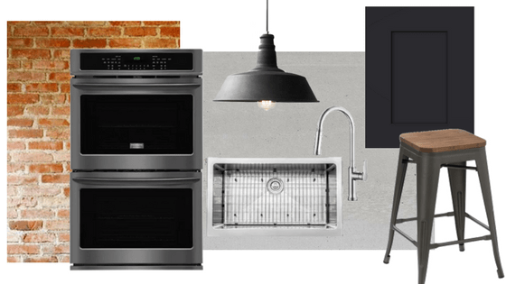 How to Style Frigidaire Black Stainless Steel Appliances: Industrial ...
