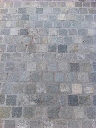 """Cobblestones in """"Endicott"""", $110/sqm."""