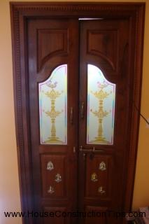 Puja Room Door And Glass Designs