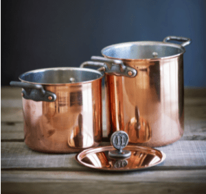 American copper cookware, american copper, pure copper, pure metal, pure metal cookware, american cookware, cooking with copper, tin-lined copper, house copper