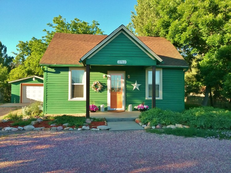little green cottage