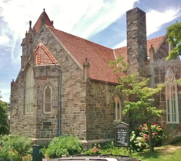 Washington DC historic church