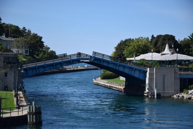 Charlevoix Drawbridge