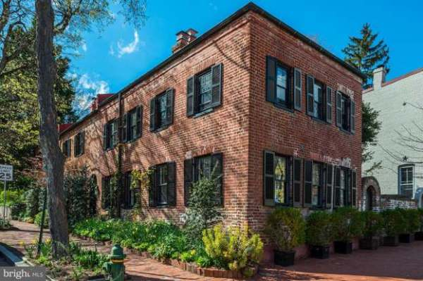 Washington DC historic brick home