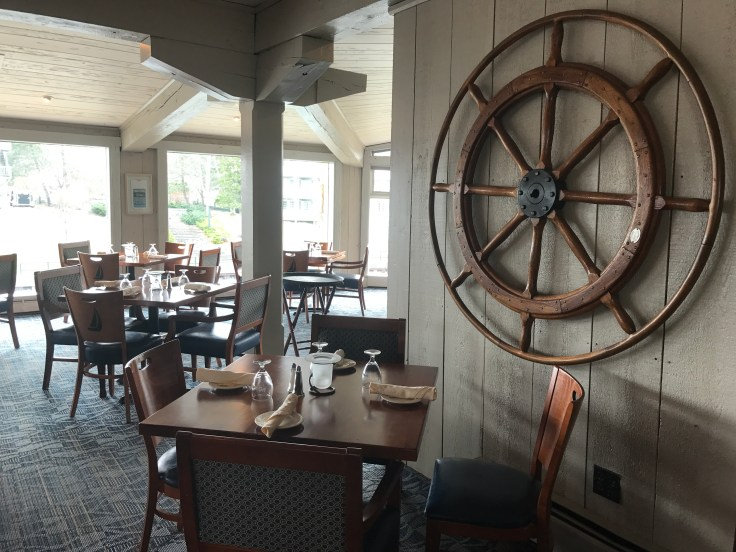 Inside Stafford's Weathervane Restaurant