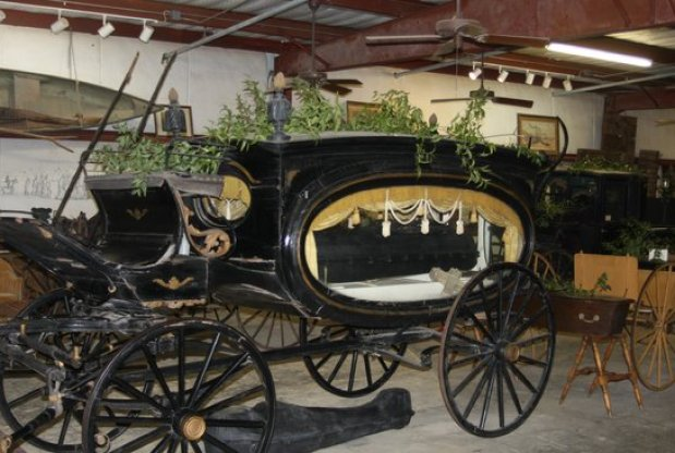 antique hearse lsu-rural-life-museum