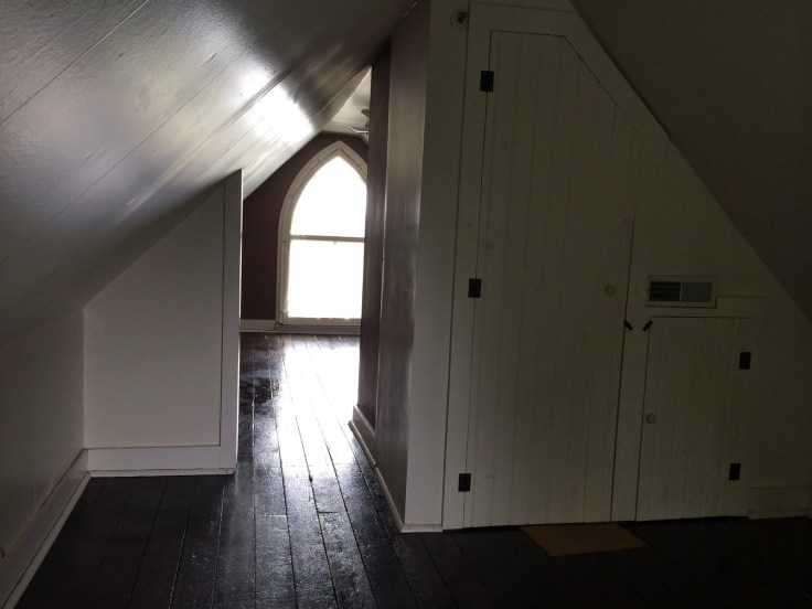 inside the American Gothic House