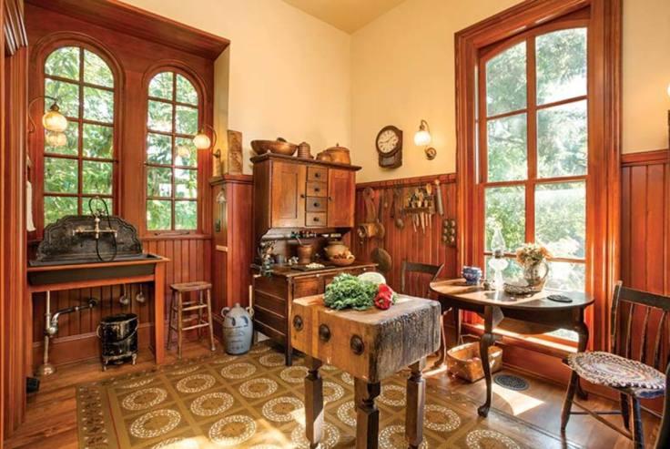 Period Perfect Victorian Kitchen
