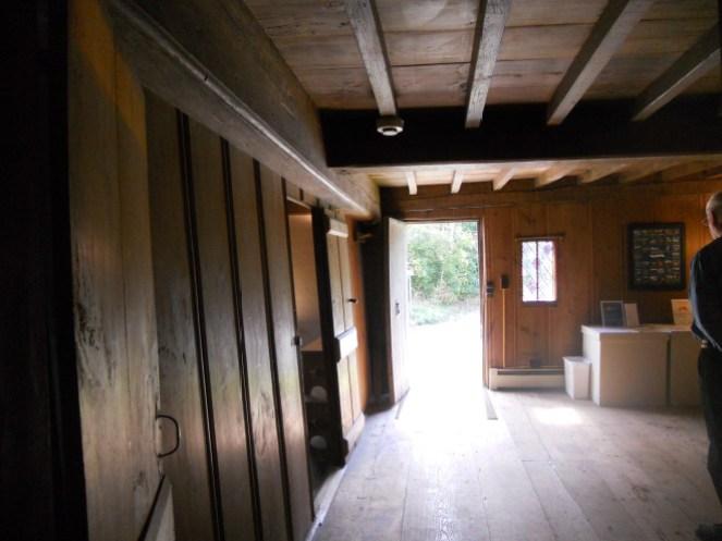 inside the Eleazar Arnold house