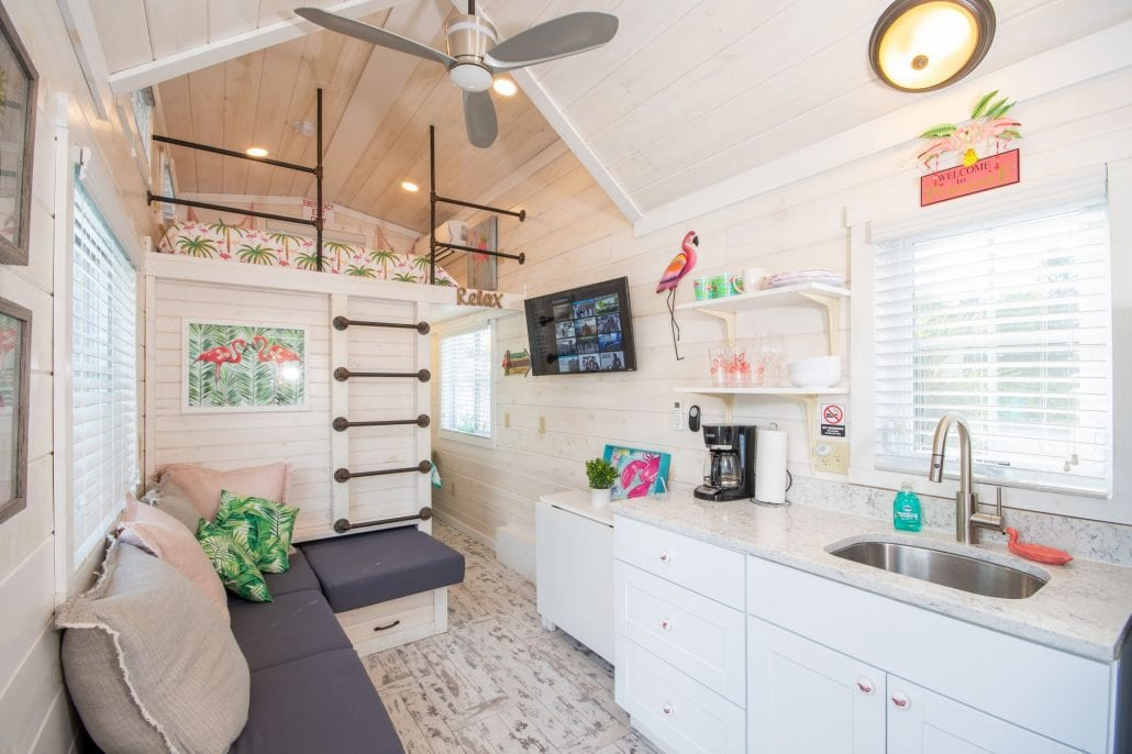 Flamingo Tiny House in Florida