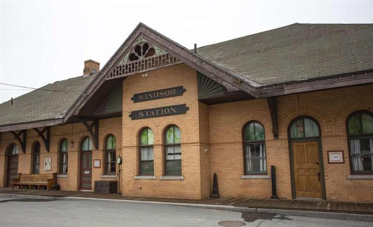 railroad station restaurant in Vermont
