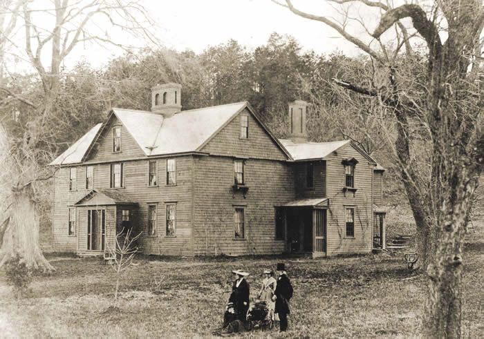 Louisa May Alcott House Orchard House historic photo