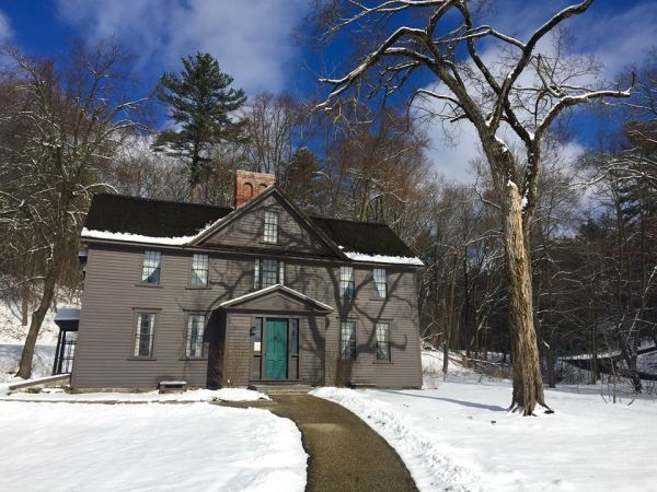 Louisa May Alcott House Orchard House in Concord Massachusetts