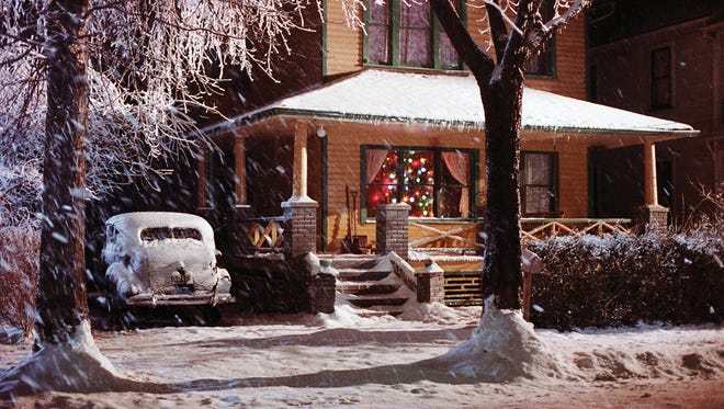 Ralphie's House in A Christmas Story movie