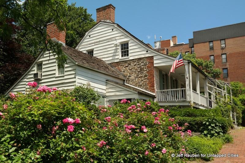 The Dyckman House - last remaining farmhouse in Manhattan