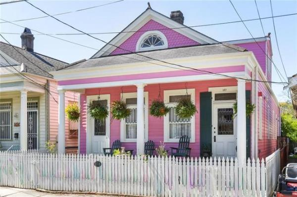 New Orleans shot gun house