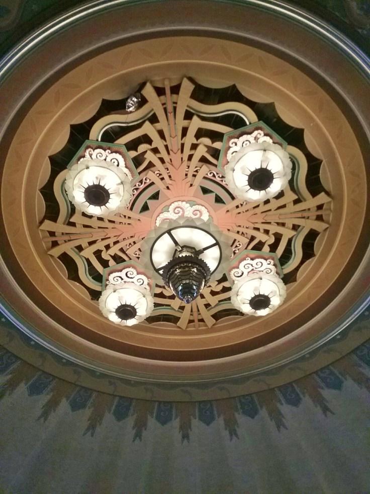 inside the Avalon Casino Catalina Island