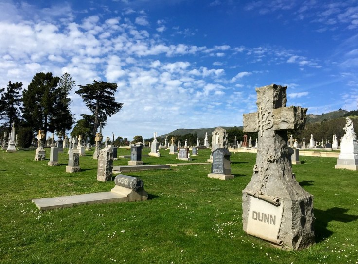 Colma, California Town of The Dead cemetery
