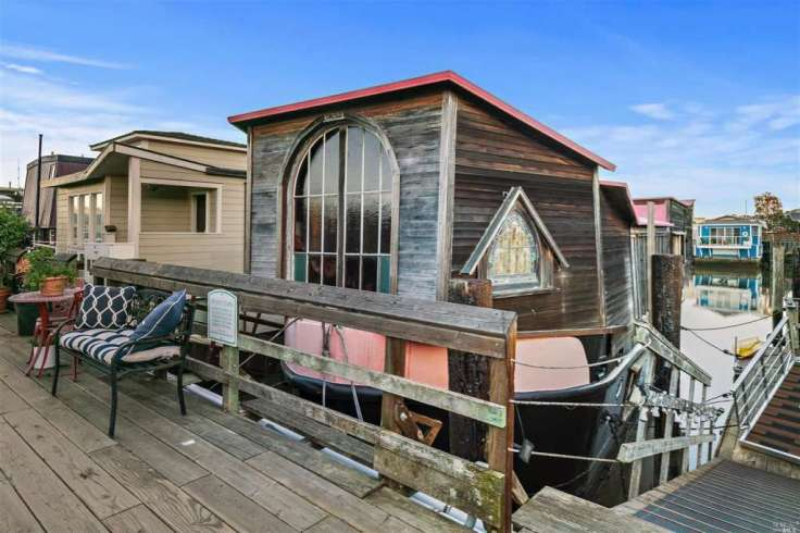 Shel Silverstein's Sausalito boathouse
