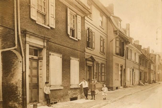 Elfreth's Alley Philadelphia, Pennsylvania