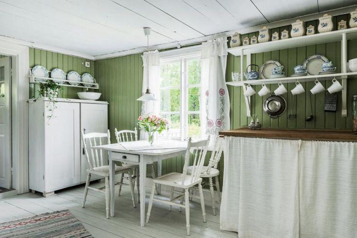 traditional Swedish kitchen