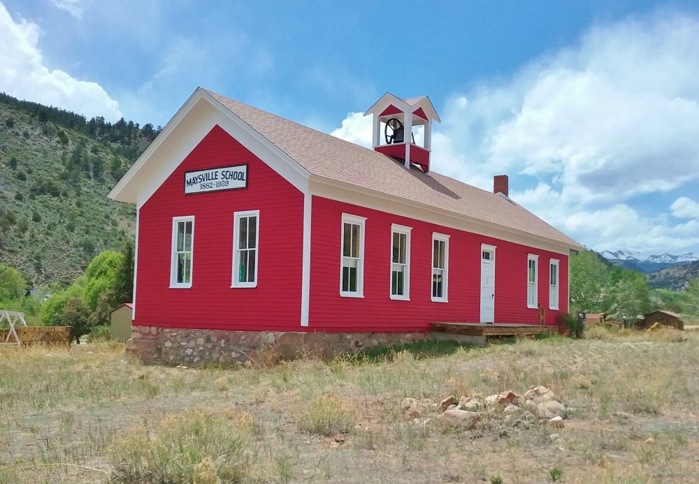 historic school house in Colorado
