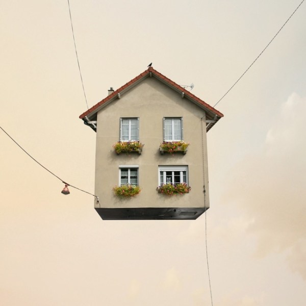 Laurent Chehere flying house photography