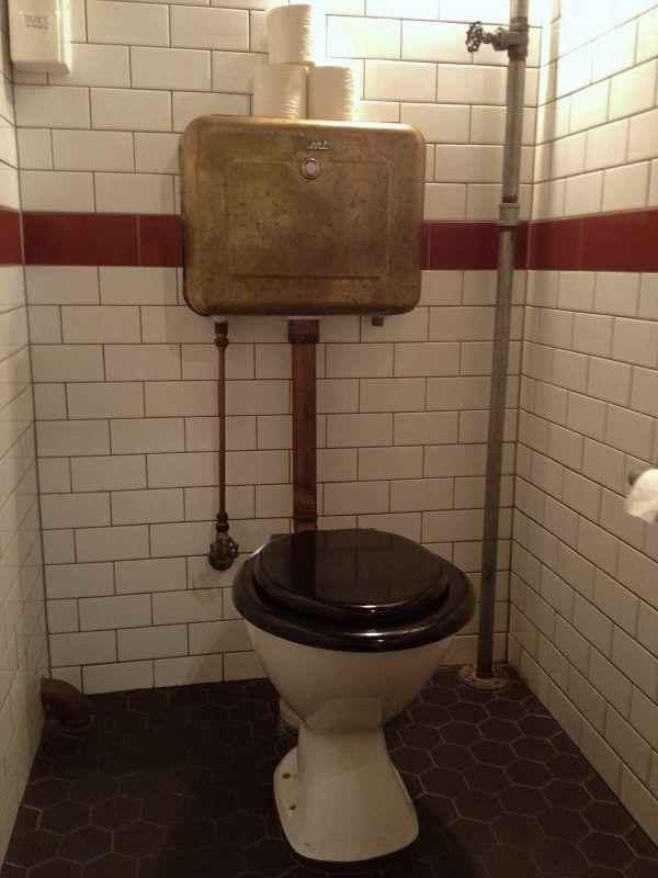 antique toilet